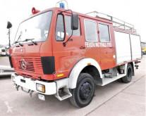 Vrachtwagen Mercedes 1019 AF LF16 4x4 DoKA AHK Feuerwehrwagen SFZ LÖS tweedehands brandweer