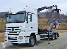 Lastbil multi-tippvagn Mercedes Actros 2548 Abrollkipper 5,30m + Kran/Funk * 6x2