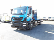 Iveco Stralis Hi-Street Euro6 Crane truck truck used dropside
