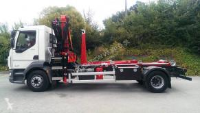 Camião Scania P360 hook-lift crane truck poli-basculante usado
