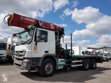 Camião Mercedes Actros 3351 L transporte de madeira usado