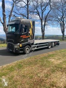 Lastbil Renault Gamme T High 480 P6X2 LOW 26T E6 platta halmbärare begagnad