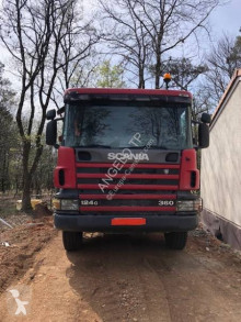 Scania C 124C360 truck used two-way side tipper