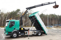 Volvo flatbed truck FL 280 4x2 Euro 5 PALFINGER PK 12001 Kran Tiper