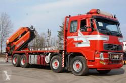 Camion cassone Volvo FH 12 460 8x4 PALFINGER PK 56002 E Kran Cran
