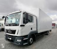 Camión lona corredera (tautliner) MAN TGL TGL 12.220 4x2 Euro 6 Pritsche/Plane L-Haus AHK LBW (49)
