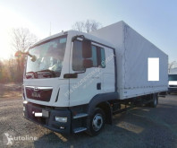 Camião MAN TGL TGL 12.220 4x2 Euro 6 Pritsche / Plane L-Haus LBW AHK (47) caixa aberta com lona usado
