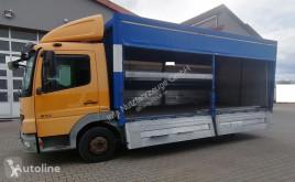 Lastbil Mercedes 818L Getränkekoffer 4x2 (36) transportbil bryggeri begagnad