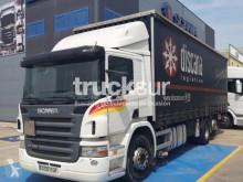 Lastbil flexibla skjutbara sidoväggar Scania P 340