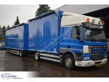 Lastbil med släp rörligt underlag DAF