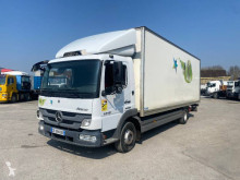 Mercedes plywood box truck Atego 1018