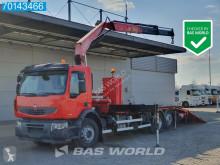 Renault car carrier truck Lander 380 Manual Liftachse Fassi F230AXP.22