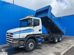 Camion bi-benne Scania 114 340 manual, steel suspension