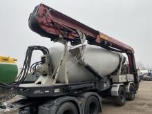 Yarı römork beton transmikser / malaksör 2 AS + STETTER 12 M3 MIXER MET REMOTE