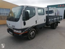 Camión Mitsubishi Canter FE531 caja abierta teleros usado
