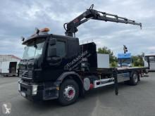 Lastbil Volvo FE 340 platta järntransport begagnad
