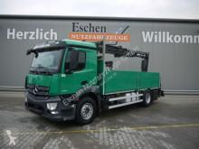 Camión caja abierta teleros Mercedes Antos 1835L Antos, Atlas 125.2, Funk, EUR6, Klima, ACC
