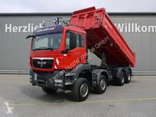 MAN hátra és két oldalra billenő kocsi teherautó TGS TGS 35.440 8x8 BB, Meiller 3-Seiten, Klima, EUR5