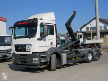 Camion MAN TGS TG-S 26.400 6x2-2 BL Abrollkipper Meiller , m.Fhs, Lenk polybenne occasion