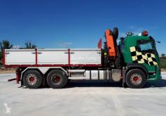 Camion benne Volvo 410 FM11 VOLQUETE 6X2 PALFINGER 26002