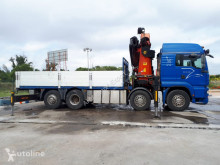 Camion MAN 480 8X2 PALFINGER 56002+JIB AÑO 2005 plateau occasion