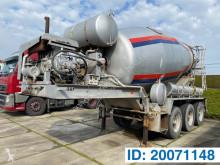 Yarı römork beton transmikser / malaksör MOL Baryval 12 M³