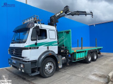 Camion Mercedes 2539 Steel suspension, Hiab, EPS 16, 3 pedals plateau occasion