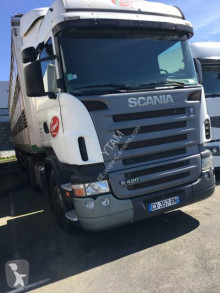 Camion Scania R420 trasporto suini usato