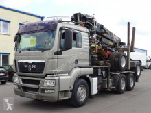 MAN timber truck TGS TGS 26.540*HIAB*Jonserd2490Kran*in