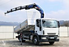 Kamion Iveco EUROCARGO 150E25 Kipper 4,40m + PM SERIE 12! plošina použitý
