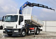 Kamion Iveco EUROCARGO 150E25 Kipper 4,40m + PM SERIE 12! korba použitý
