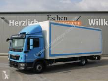Teherautó MAN TGL TGL 12.250 4x2 BL Koffer/LBW*3 Sitze*1.Hand*Navi használt furgon