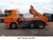 Camión Scania G G410 Absetzkipper Meiller 6x2 multivolquete usado