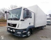 Kamion MAN TGL TGL 12.220 4x2 Pritsche/Plane L-Haus LBW AHK (31) savojský použitý