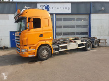 Scania R 480 truck used hook arm system