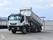 Kamion Iveco Trakker 410 Kipper 5,20m+Bordmatic *6x4 !! korba použitý