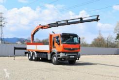 Kamion plošina Renault Kerax 370 DXI* Pritsche 6,50m+ PK18500+FUNK /6x4