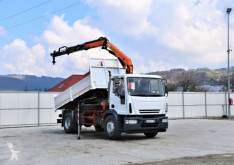 Camion Iveco EUROCARGO 180E24 Kipper 4,55m + PK9501 + FUNK ! plateau occasion