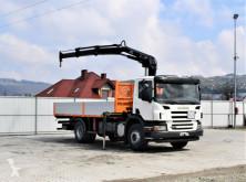 Грузовик Scania P270 Pritsche 6,00m + HIAB 122 BS- 2 DUO ! платформа б/у