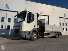 Kamion DAF LF180 4x2 Palfinger PK4501A crane 3200 kg plošina bočnice použitý