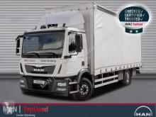 MAN TGM 15.250 BL-PRITSCHE PLANE-NAVI-SPOILER-KLIMA truck used tarp