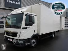 Lastbil transportbil MAN TGL 8.190 4X2 BL E6 Koffer 6,10m Klima AHK