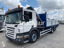 Scania hook lift truck P ejes 6x2*4
