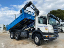 Scania P 340 truck used two-way side tipper