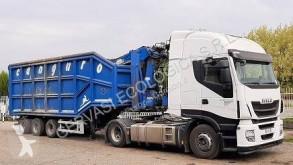 شاحنة مفصلية حاوية حاوية قلابة للخردة Iveco Stralis