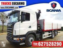 Teherautó Scania P 420 használt plató