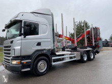 Scania R 480 truck used timber