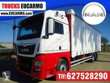 Kamión MAN TGX 26.440 plachtový náves ojazdený