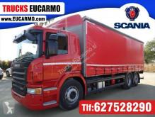 Kamión plachtový náves Scania