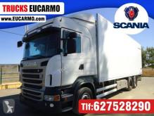 Teherautó Scania használt hűtőkocsi